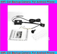 Parking Assistance eyesauto Wireless WIFI Wireless Reverse Parking camera car with Any Android device Android mobilephone MID wireless reversing Wifi phone kit+ car styling