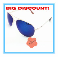 Wholesale Metal sunglasses many colour to choose women and man s sunglasses color coated glass lenses