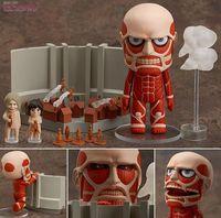 PVC attack on titan figure - Anime toy Nendoroid quot Q version Attack on Titan Colossal Titan PVC Mini Action Figure Toy Doll