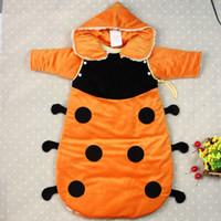 Baby Raglan Sleeve Polka Dot ODEMA festival baby sleeping bag lovely baby pajamas new cotton newborn infant spring autumn short-sleeves pajamas