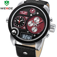Sport Men's Round 2014 New WEIDE Waterproof Analog Digital Clock Men Sports Japan Quartz Movement Watch Military Casual Watches Relogio Masculino