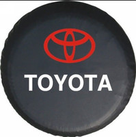 Wholesale MN Factory direct sale Brand new INCH SPARE WHEEL TIRE COVER COVERS FITS TOYOTA RAV4 HIGHLANDER LAND CRUISER