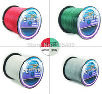 Wholesale new M LB mm blue strand braided wire fishing line dayneema PE Fishing Line for shimano berkley pesca spectra