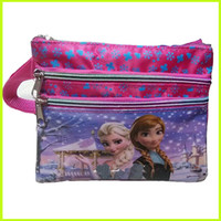 Wholesale Frozen Shoulder Bags Elsa Anna Princess Shoulder Bags Baby Girls Red Messenger Bag Children Travel Backpack Kids Holiday Gift GZ GD9