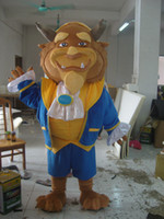 Mascot Costumes beast adult costume - CY2014 Adult the beauty and the beast costume the beast mascot costume for sale