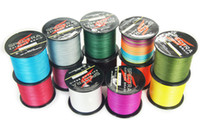 Wholesale 4 braided extreme line M Lb colors strong fishing line power up dyneema japan pesca brand berkley fish lure spectra