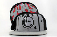 Cheap Yums Snapback Hat Black Grey Snapbacks Lovely Smile Snap Back Hats Ball Snap Backs Caps Cheap Womens Mens Fashion Hip Hip Cap Sports Caps