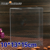 pvc clear pvc boxes - 10 cm clear box plastic box PVC boxes gift packing cases amp displays wedding favor