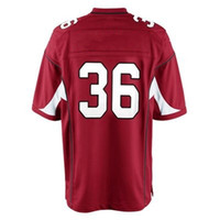Football Men Short Wholesale #36 Deone Bucannon 2015 Jersey Red American Jersey Football Jerseys 40-60 free shipping accept Mix order