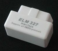 White MINI ELM327 Bluetooth OBD2 V1. 5 car detector, developed...