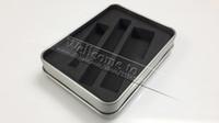 Wholesale eGo Metal Gift Box for EGO T K Q Electronic Cigarette eGo Starter Kit Aluminium E Cigarette Case