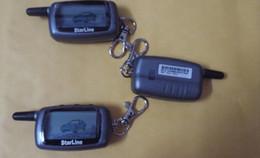 dos vías LCD de arranque remoto del sistema de alarma de coche Rusia STARLINE A6 nuevo control / fm transmisor remoto desde sistema de alarma a distancia un coche proveedores