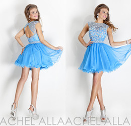 Discount Ice Blue Cocktail Dress  2017 Ice Blue Cocktail Dress on ...