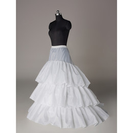 Wholesale New Wedding petticoats bridal gowns petticoats under skirt girls petticoats Hot Sale