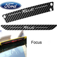Personalized Sticker Whole Body Stickers 3D Carbon fiber car stickers racing decals auto film styling for ford focus sedan sunshading waterproof Brake lights affixed High quality