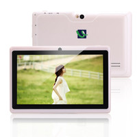 Wholesale New Arrival Q88 iRuLu Q88 Inch Android Tablet PC Dual Core Dual Camera Allwinner A23 Capacitive MID MB GB GHZ WIFI