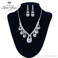 Wedding Jewelry Sets Crystal GT2988 Wholesale - Hot Sale Czech Rhinestone Imitated Gemstone Jewelry Sets African Jewelry Set Wedding Jewelry Crystal Necklace Earrings EMS Freeh