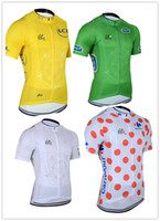 Tops Breathable Men Wholesale! Free shipping! 2014 Tour de France Cycling outdoor sports Professional team cycling Jersey short sleeves jersey , Size S-XXXL