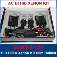 Wholesale Xenon Kit V H4 W HID Xenon Kit bi xenon AC HID Silm ballast Auto XENON HID Conversion Kit