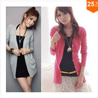 Wholesale Fashion Pullove Women cardigan Sweater cotton W4101
