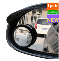 Wholesale New Driver Side Wide Angle Round Convex Car Vehicle Mirror Blind Spot Auto RearView Pair Drop Shipping