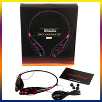 Wireless MP3/MP4  LG s740T Wireless Sports Bluetooth 3.0 Stereo Headphone Have TF Card FM Function Headset Neckband For iphone 4s 5s s5 Note3 new(0107121)