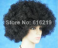 Wholesale punk Afro wig fans bulkness colorful cosplay Christmas halloween wig
