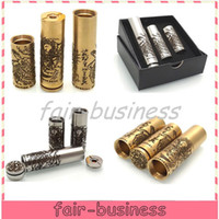 Wholesale DHL FEDEX Brass SS Turtle Ship V3 Mod Kits Clone Mechanical Mod Turtleship V3 Mod Fit VS Stingray Nemesis Akuma