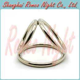 Wholesale Cock Cage Stainless Steel Time Delay Rings Penis Rings Great Sex Toy for Men Adult Sexy Products