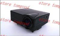 Wholesale H80 LCD Projector resolution Multimedia LED Mini Home Theater AV VGA SD USB HDMI white black