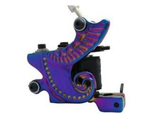 Wholesale USA Dispatch_NEW Professional Colorful Tattoo Machine GUN Wrap Coils Shader Supply