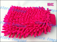 Wholesale Car Wash Glove Microfiber Chenille car cleaning cloth chenille car cleaning glove drop shipping