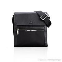 Shoulder Bags Men Plain Wholesale - - High Quality Messenger Bags Laptop Tote Bags Business Shoulder Bag Cross Body Mens Bag PU Leather Large Capacity for Man