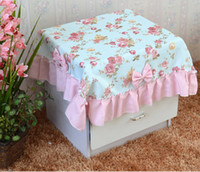Wholesale Hot Item cm inch Thickening Tablecloth Fashion Rural Tablecloth Cover Cloth Patchwork Garden Style Colors