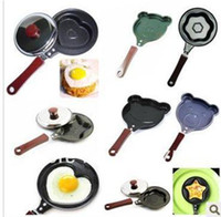 Garlic Keepers Metal ECO Friendly For egg cake pizza separator! stainless steel cartoon animal Heart-shaped Fried Eggs cooker frying pan,5 Design sets