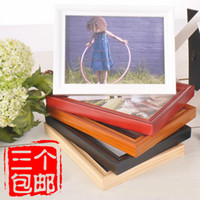 Yes 2 Boxes White 12 inch Fashion big solid wood photo frame wall mounted photo frame rack picture frame