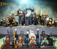 Wholesale New lord of the rings toys The Hobbit Action Figures toys building blocks toys New styles for children s gift