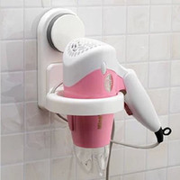 Disposable Two-piece Yes Sucker Innovative Items Bathroom Accessories Set Novelty Households Home Supply Spiral Hair Blow Dryer Holder Wall Hang Holder