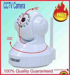 Wholesale White Color JW0012 Mini CCTV camera WiFi WPA Network Webcam wireless camara IP Internet for home security Surveillance