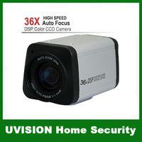 Wholesale CCTV Security TVL Digital Color Wired Sharp CCD X Optical mm Vari Focal Zoom BOX Camera