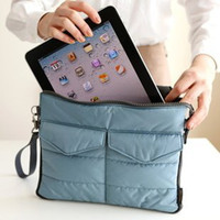 Wholesale Newest Multifunction digital organize bag ipad protective case pouch for Table PC Mobliephone travel handbag case for ipad