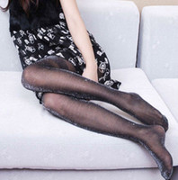 Women Over Knee Solid Women Shiny black Silk Stockings Pantyhose Pants Tights WADL03