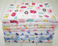 Wholesale Newborn Cotton Baby Cuddle blanket blanket Infant Robes Washing Cloth Baby Bed Linen