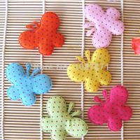 Fingerless Gloves Headwear Yes Small dots butterfly mix 60mm flower Cute DIY cell phone decor hair bow and flower centers, embellishment accessories