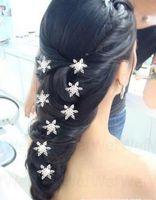 Wholesale Frozen Princess Hair Accessory Wedding Bridal Pearl Hair Pins Flower Crystal Hair Clips Bridesmaid Hair Accessories