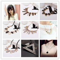 Wholesale 20 styles Mixed Order Promotion Candy Color Rhinestone Choker Statement Necklace