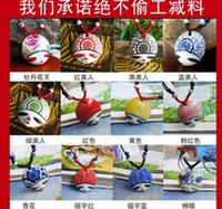 Wholesale Jingdezhen ceramic jewelry ceramic necklace beautiful face pure manual national wind necklace Sweater chain