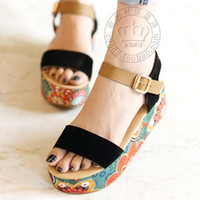 Cheap Women platform Sandals Best Kitten Heel Micro Suede shoes sandals