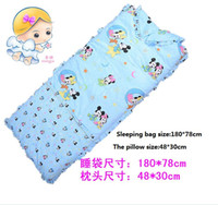 Wholesale New m exclusive cotton twill oversized children s sleeping bags baby sleeping bag