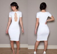 Wholesale HOT New Women I Top Fashion New summer New Sexy Package Hip Queen Style Bodycon Party Dress